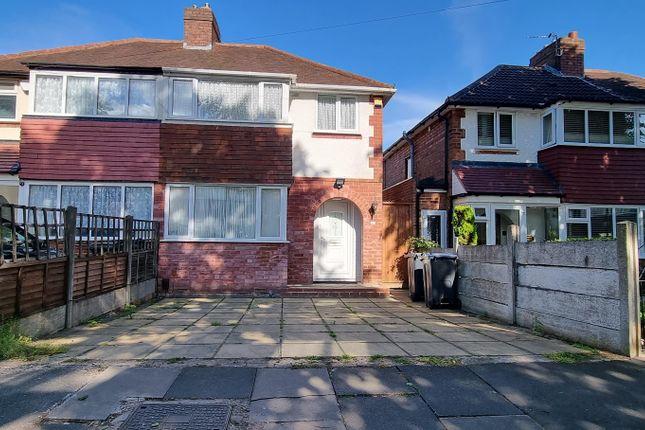 Thumbnail Semi-detached house to rent in Atlantic Road, Great Barr, Birmingham