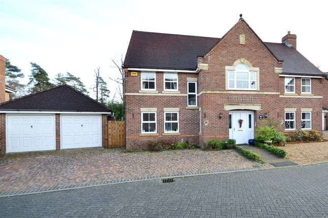 Thumbnail Detached house for sale in Hugh De Port Lane, Elvetham Heath, Fleet