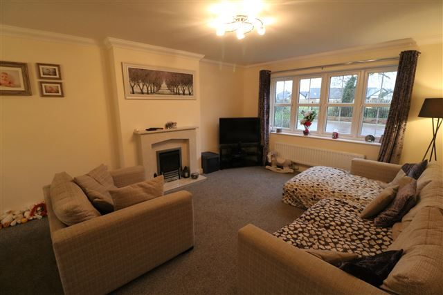 Living Room of Hamilton Drive, Carlisle, Cumbria CA2