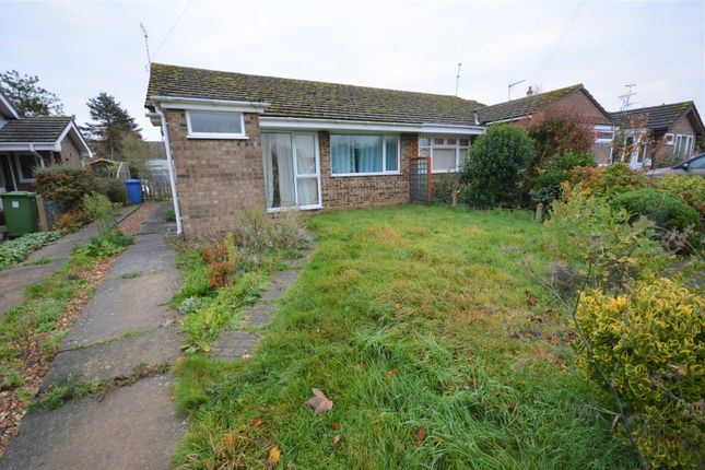 Thumbnail Semi-detached bungalow to rent in Meadowlands, Blundeston, Lowestoft, Suffolk