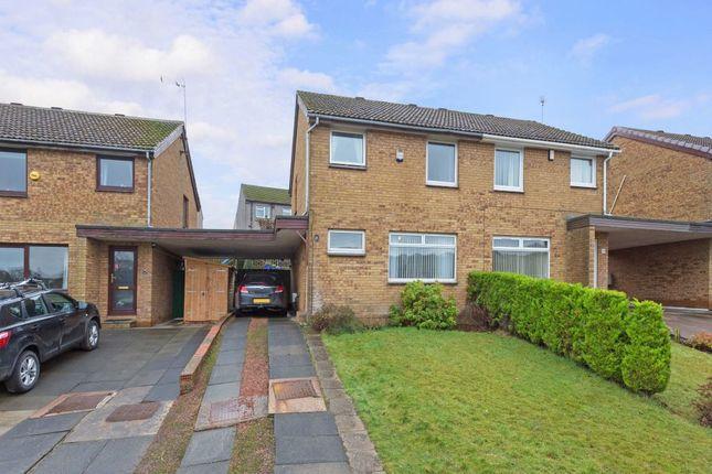 Thumbnail Semi-detached house for sale in 46 Hallcroft Park, Ratho