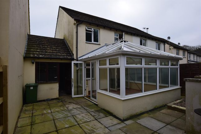 Thumbnail Semi-detached house to rent in Colombelles Close, Fremington, Barnstaple