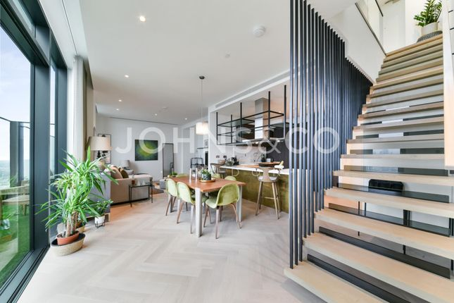 Thumbnail Flat for sale in Bagshaw Building, Wardian, London