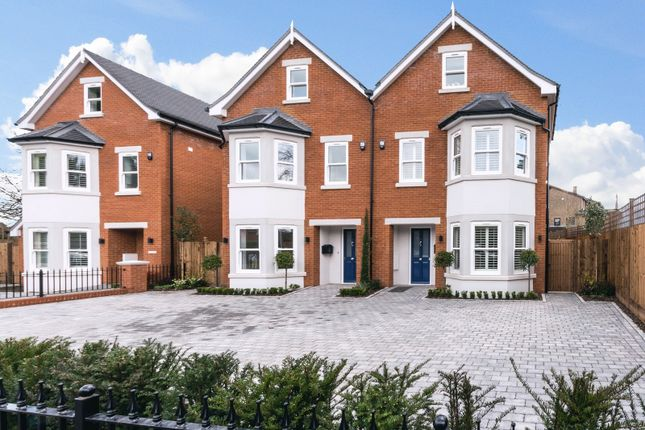 Thumbnail Semi-detached house for sale in Portmore Park Road, Weybridge