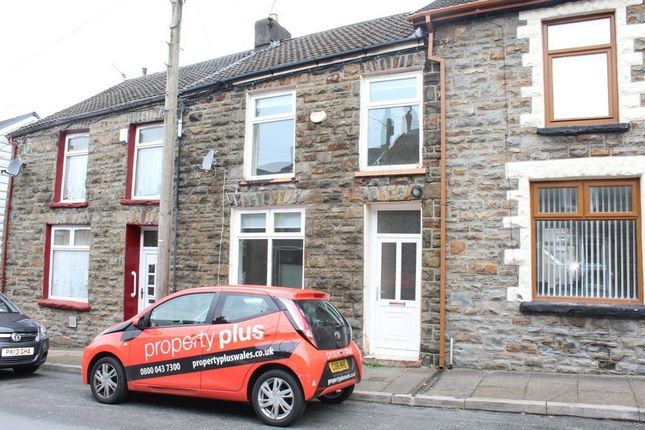 Thumbnail Terraced house to rent in Elizabeth Close, Lewis Street, Pentre