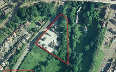 Thumbnail Land for sale in Gryphonn Concrete Premises, New Road, Hengoed