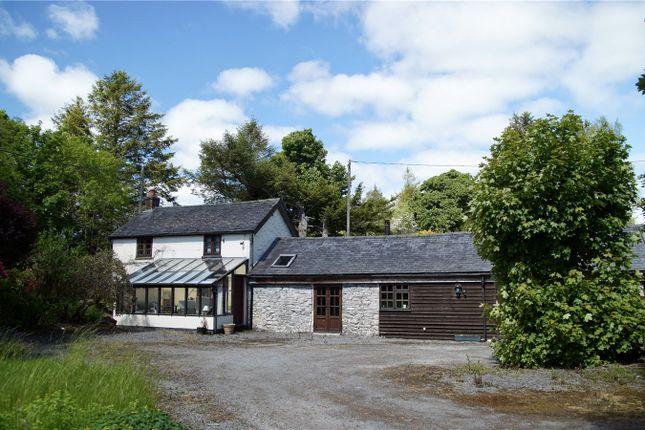 Thumbnail Land for sale in Aberbidno, Llangurig, Llanidloes, Powys