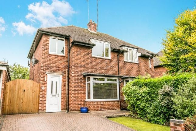 Thumbnail Semi-detached house for sale in Rosewood Avenue, Chester