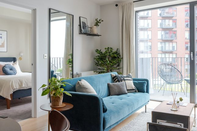 Thumbnail Flat to rent in City Island Way, London