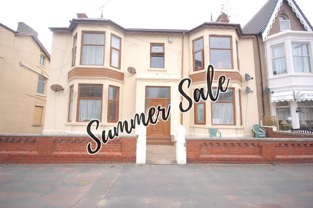 Thumbnail Flat for sale in Shaw Road, Blackpool, Lancashire
