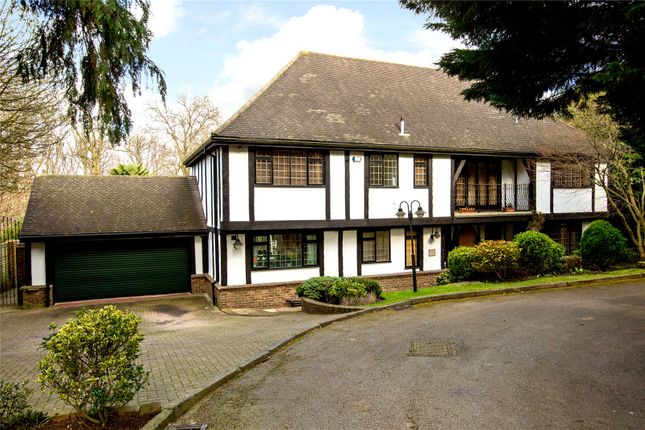 Thumbnail Detached house for sale in Wolsey Close, Wimbledon