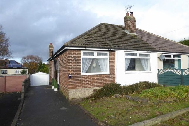 Thumbnail Semi-detached bungalow for sale in Bedford Gardens, Cookridge, Leeds, West Yorksahire