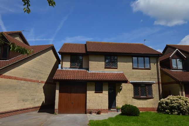 Thumbnail Detached house for sale in Summer Lane North, Worle, Weston-Super-Mare