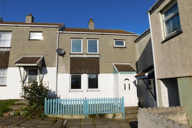 Thumbnail Terraced house for sale in Tregundy Road, Perranporth