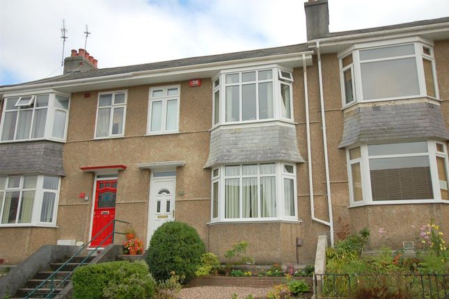 Thumbnail Terraced house for sale in Fullerton Road, Stoke, Plymouth