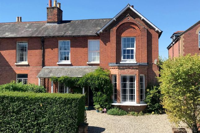Thumbnail Semi-detached house for sale in Newtown Road, Newbury