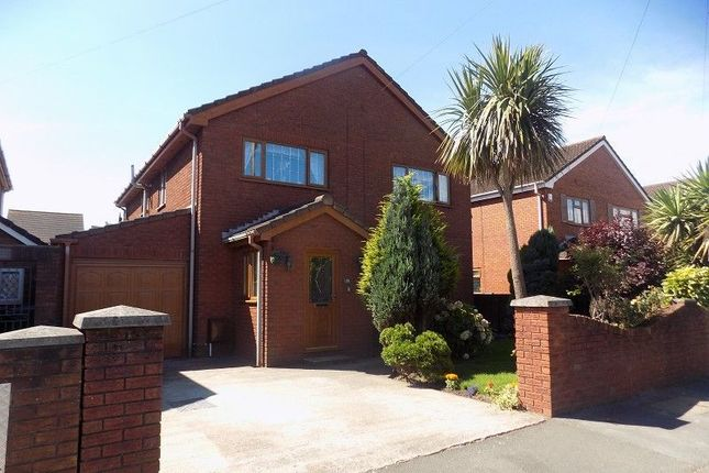 Thumbnail Detached house for sale in Sitwell Way, Little Warren, Port Talbot, Neath Port Talbot.