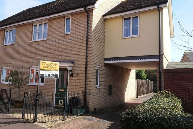 Thumbnail Semi-detached house for sale in Gratian Close, Myland, Colchester