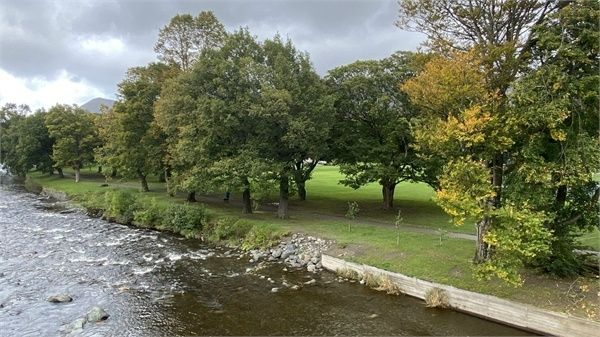 Thumbnail Flat for sale in Flat 14, Riverside Lodge, Station Road, Keswick, Cumbria