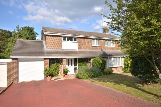 Thumbnail Detached house for sale in Lily Hill Road, Bracknell, Berkshire