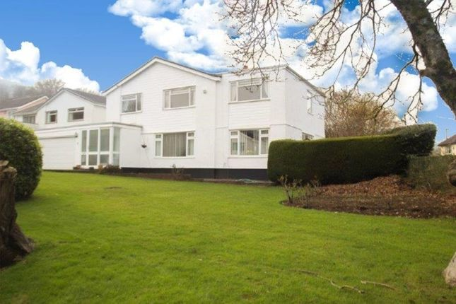 Thumbnail Detached house for sale in Llanwenarth Road, Govilon, Abergavenny