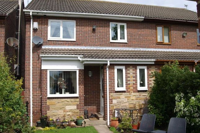 Thumbnail Semi-detached house for sale in Barras Gardens, Annitsford, Cramlington