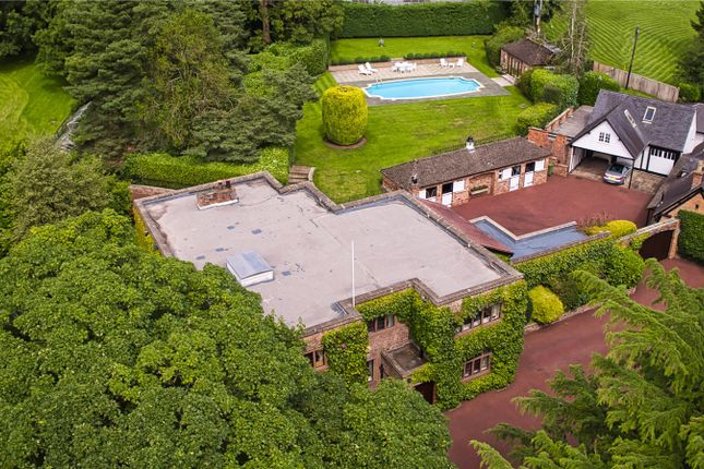 Thumbnail Equestrian property for sale in Budworth Lane, Great Budworth, Northwich, Cheshire