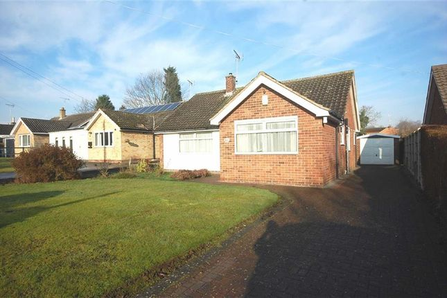 Thumbnail Detached bungalow for sale in Halloughton Road, Southwell, Nottinghamshire
