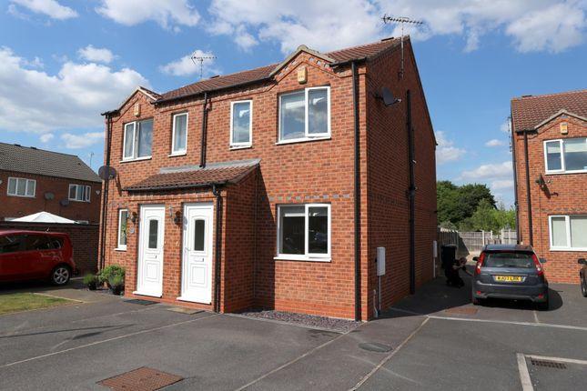 Thumbnail Semi-detached house to rent in Ludford Close, Long Eaton, Nottingham