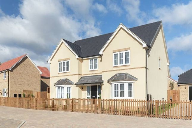 "Thumbnail Detached house for sale in ""The Solville"" at Bury Water Lane, Newport, Saffron Walden"