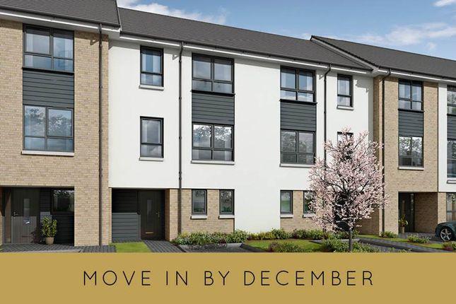 "Thumbnail Terraced house for sale in ""The Bradley Plus Study"" at Milngavie Road, Bearsden, Glasgow"