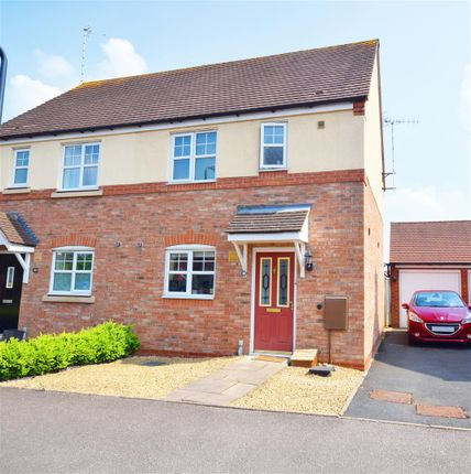 Thumbnail Semi-detached house for sale in St. Peters Way, Bishopton, Stratford-Upon-Avon