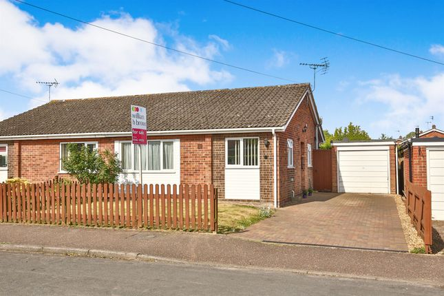 Thumbnail Semi-detached bungalow for sale in Orchard Road, Mattishall, Dereham