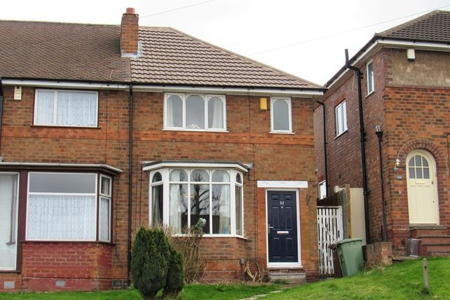 Thumbnail End terrace house for sale in Glencroft Road, Solihull