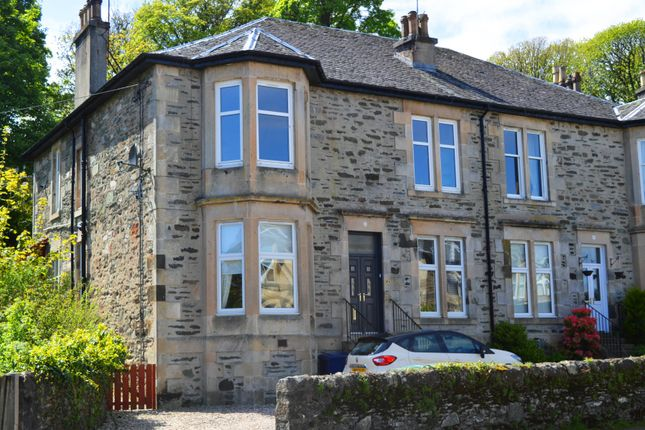 Thumbnail Flat for sale in 1, High Road, Port Bannatyne, Isle Of Bute