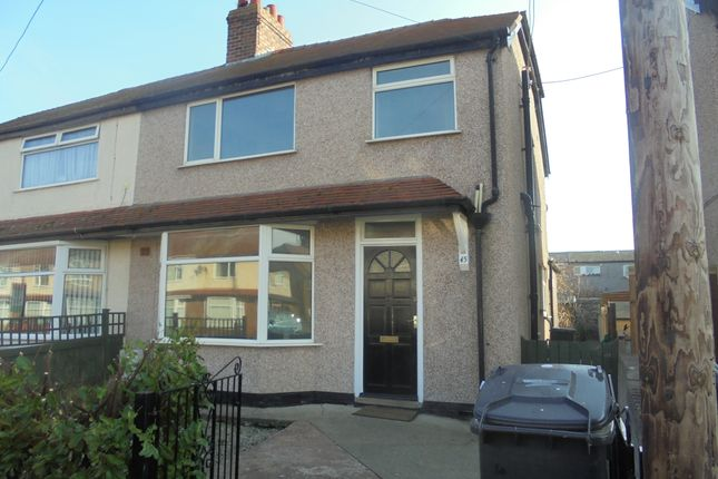 Thumbnail Semi-detached house for sale in Clwyd Avenue, Abergele
