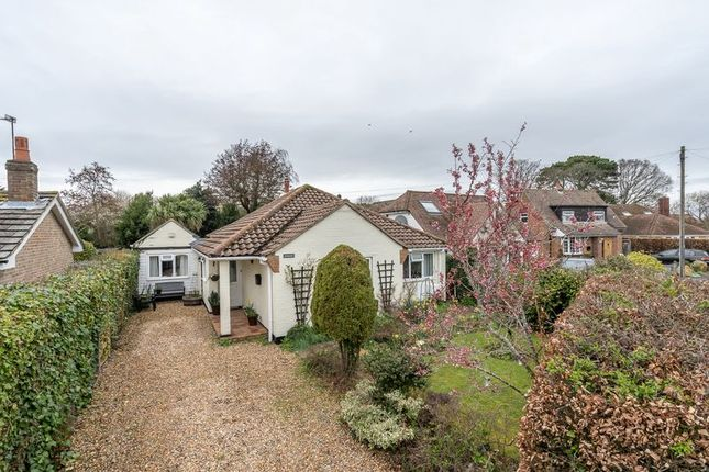Thumbnail Detached bungalow for sale in Springfield Close, Birdham, Chichester