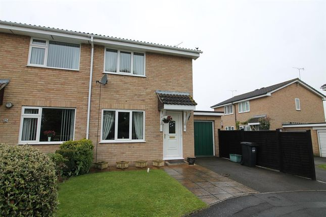 Thumbnail Semi-detached house for sale in Rowan Close, Nailsea, North Somerset