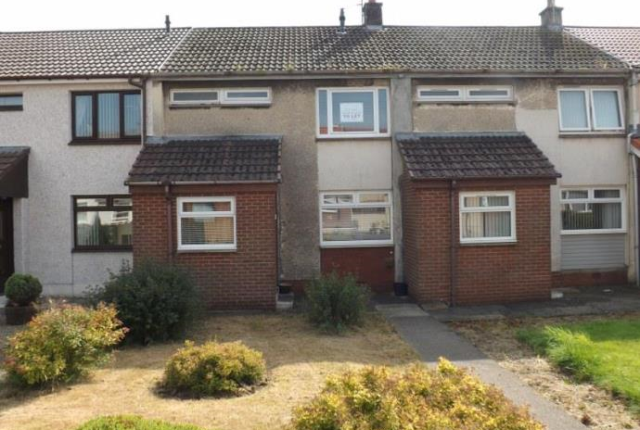 Thumbnail Terraced house to rent in Sunderland Court, Kilbirnie, Ayrshire