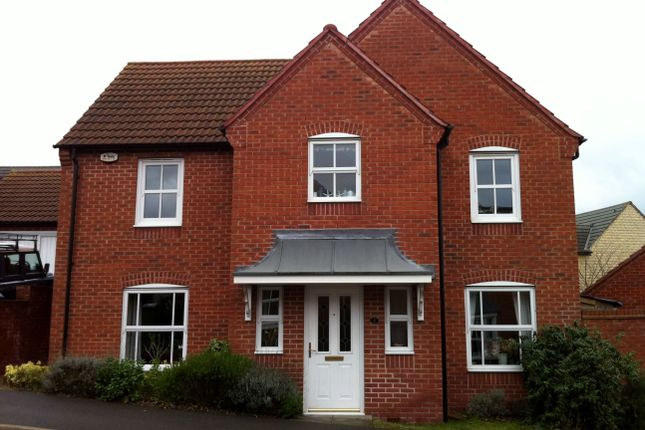 Thumbnail Detached house to rent in Mendip Close, Berry Hill, Mansfield