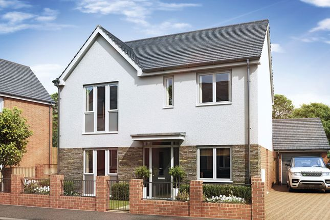 Thumbnail Detached house for sale in Gower Road, Sketty, Swansea