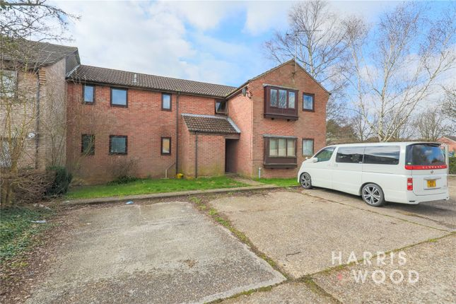 Thumbnail Flat for sale in Sioux Close, Highwoods, Colchester