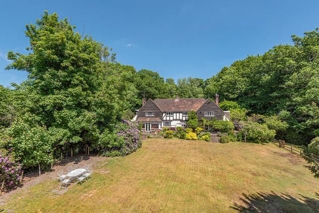 Thumbnail Detached house for sale in Hewshott Lane, Liphook