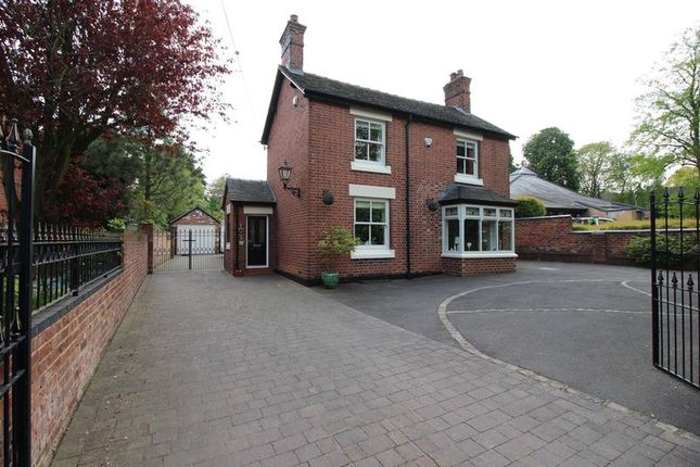 Thumbnail Detached house for sale in Station Road, Endon, Staffordshire