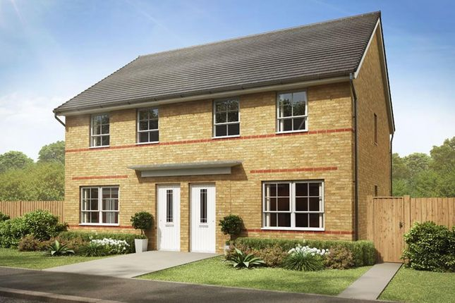 """Semi-detached house for sale in """"Maidstone"""" at Hebron Avenue, Pegswood, Morpeth"""