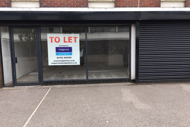 Thumbnail Retail premises to let in Southway Centre Southway Drive, Plymouth