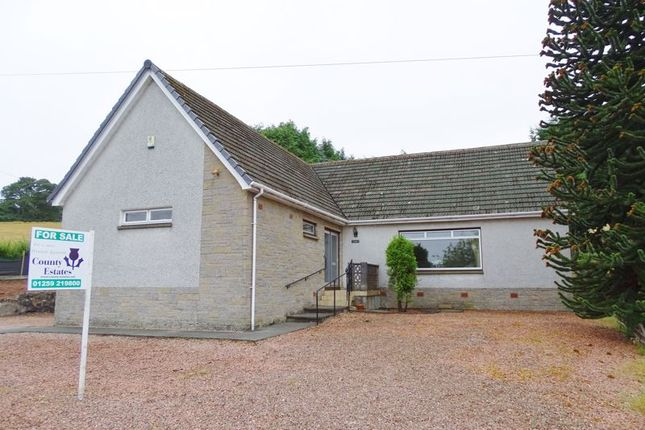 "Thumbnail Detached bungalow for sale in ""Tnarg"", Branshill Road, Sauchie"