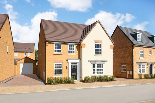 "Thumbnail Detached house for sale in ""Holden"" at Carters Lane, Kiln Farm, Milton Keynes"