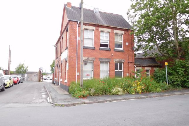 Thumbnail Office for sale in Wilfred Place, Stoke-On-Trent, Staffordshire
