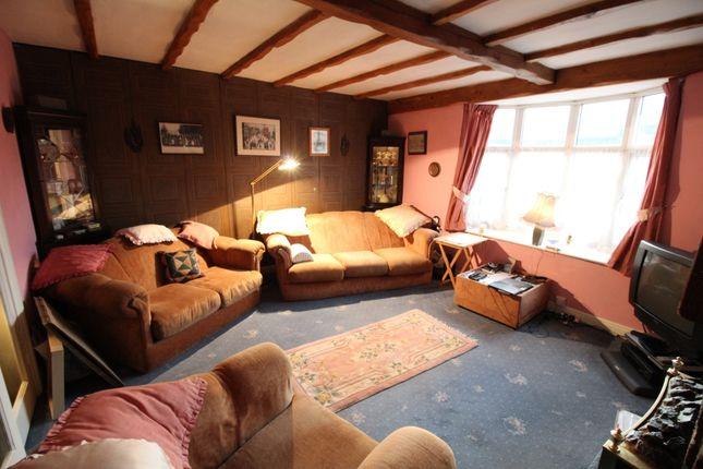 Living Room of Sunderland Street, Macclesfield, Cheshire SK11